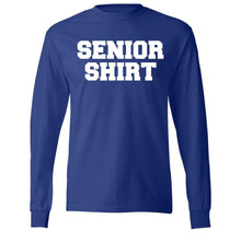 Load image into Gallery viewer, Long Sleeve Senior T-Shirt w/Marquez logo