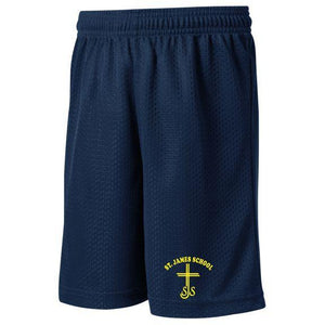 PE Mesh Short w/ St. James logo