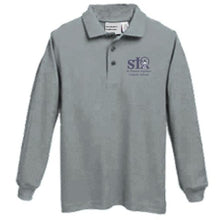 Load image into Gallery viewer, Long sleeve Knit Polo w/St. Thomas embroidered logo
