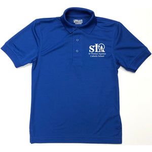 Unisex Dri-fit Polo w/St. Thomas embroidered logo