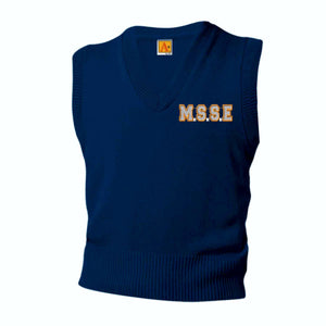 Girls Vest w/Mary Star Elementary logo