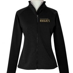 Womens Full Zip Polar Fleece w/Xavier logo