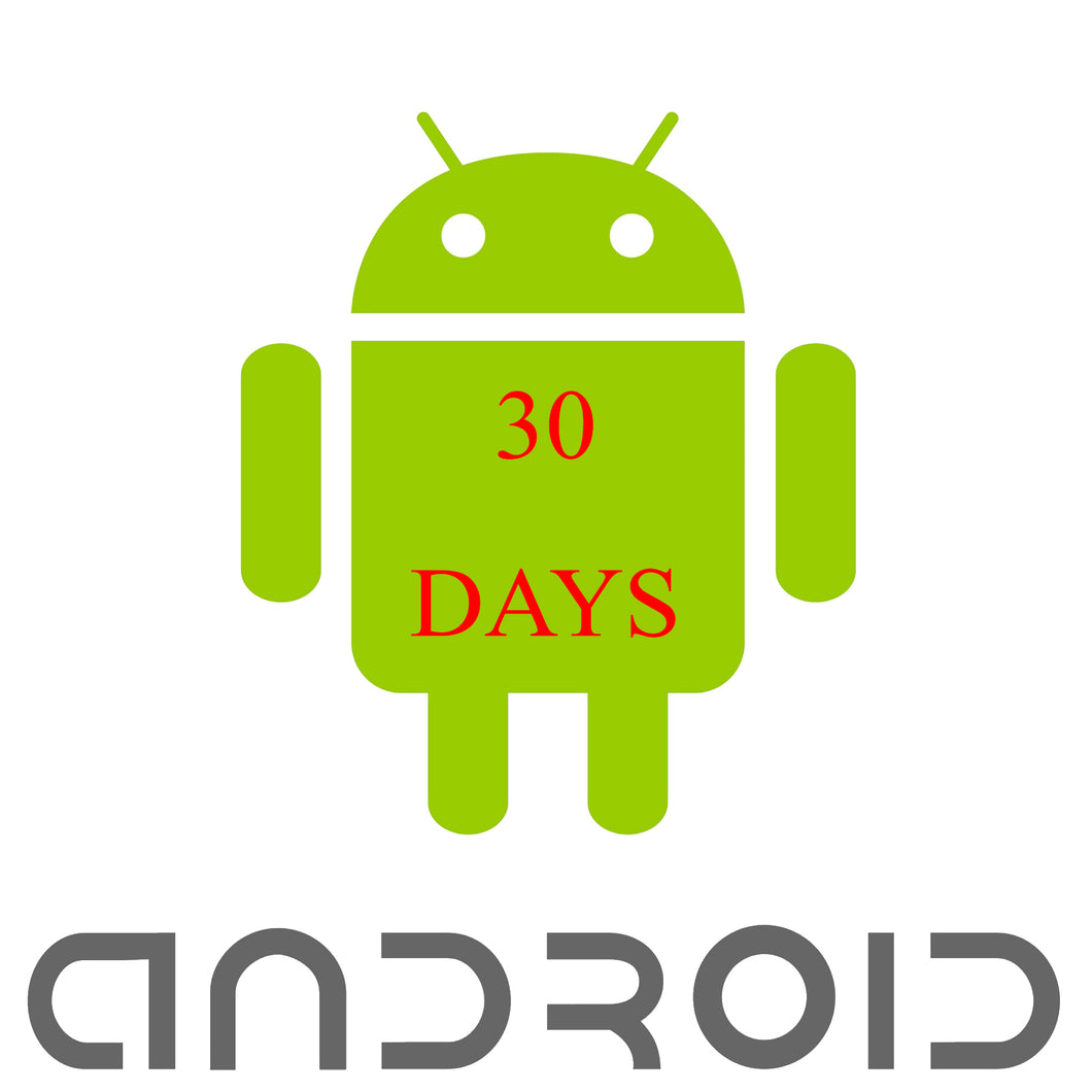 30 DAYS GMSPACK DRM PROTECTION Android