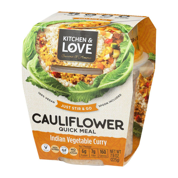 Cauliflower Quick Meal Indian Vegetable Curry