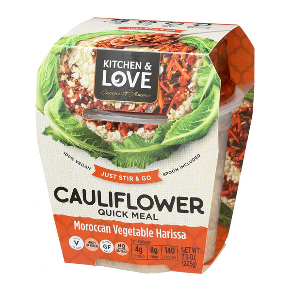 Cauliflower Quick Meal Moroccan Vegetable Harissa
