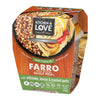 Farro with Quinoa Quick Meal with Artichoke, Lemon & Roasted Garlic