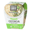 Quinoa Quick Meal with Basil Pesto
