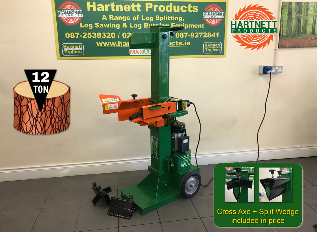Introducing our ALL NEW 12 Ton Electric Log Splitter for sale