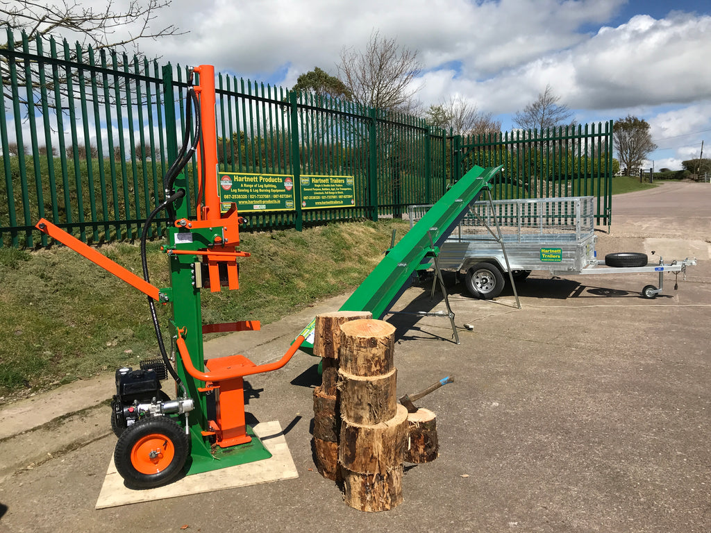 Product Feature: The 15 Ton Petrol Log Splitter for Sale at Hartnett Products