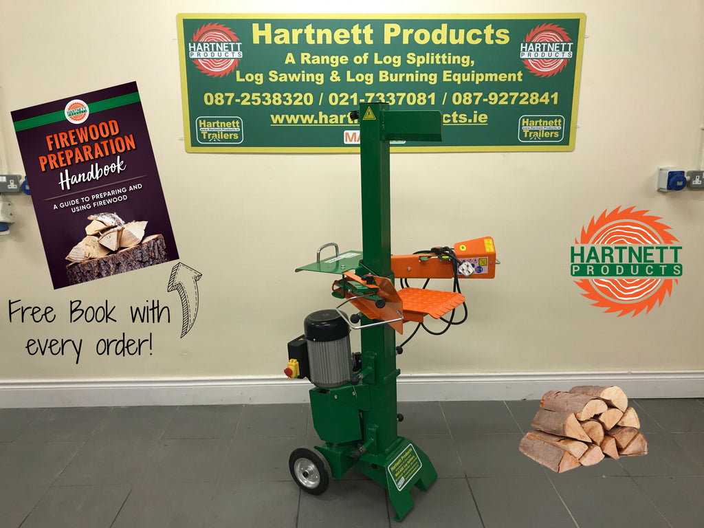 The 7 Ton Electric Log Splitter - everyone should have one!
