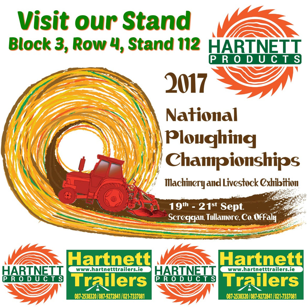 Visit our Stand at Ploughing 2017