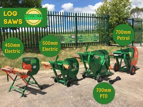 log saws for sale Ireland