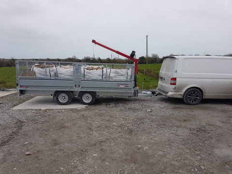 mobile crane winch for sale