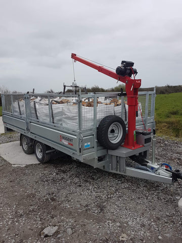 mobile crane winch for sale, Hartnett Products, Cork