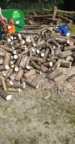 electric log saw for sale