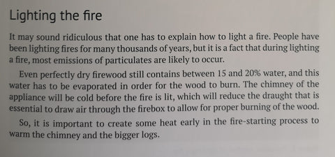 firewood lighting your fire