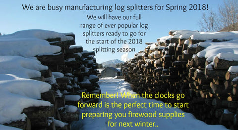 Hartnett Log Splitters Spring 2018