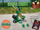 New 12 Ton Heavy Duty Petrol Log Splitter