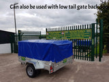 car trailer with tarpaulin cover Hartnett Trailer Sales Cork