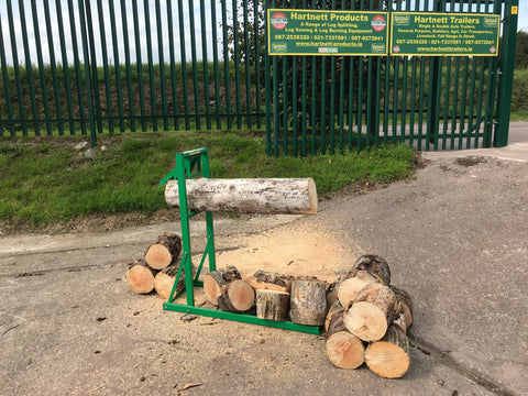 timber croc log holder for sale Ireland