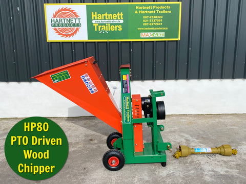 HP80 PTO Wood Chipper