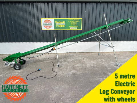 log conveyor for loading firewood
