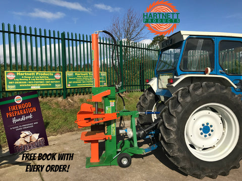 PTO driven log splitter for splitting wood, for sale Cork, Ireland