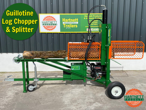 HP23 Guillotine Log Chopper & Splitter