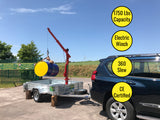 1,750 Lbs Mobile Lifting Crane (Electric Winch)
