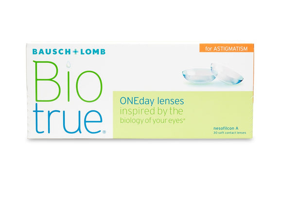 BioTrue One-Day For Astigmatism 30pk Contact Lens