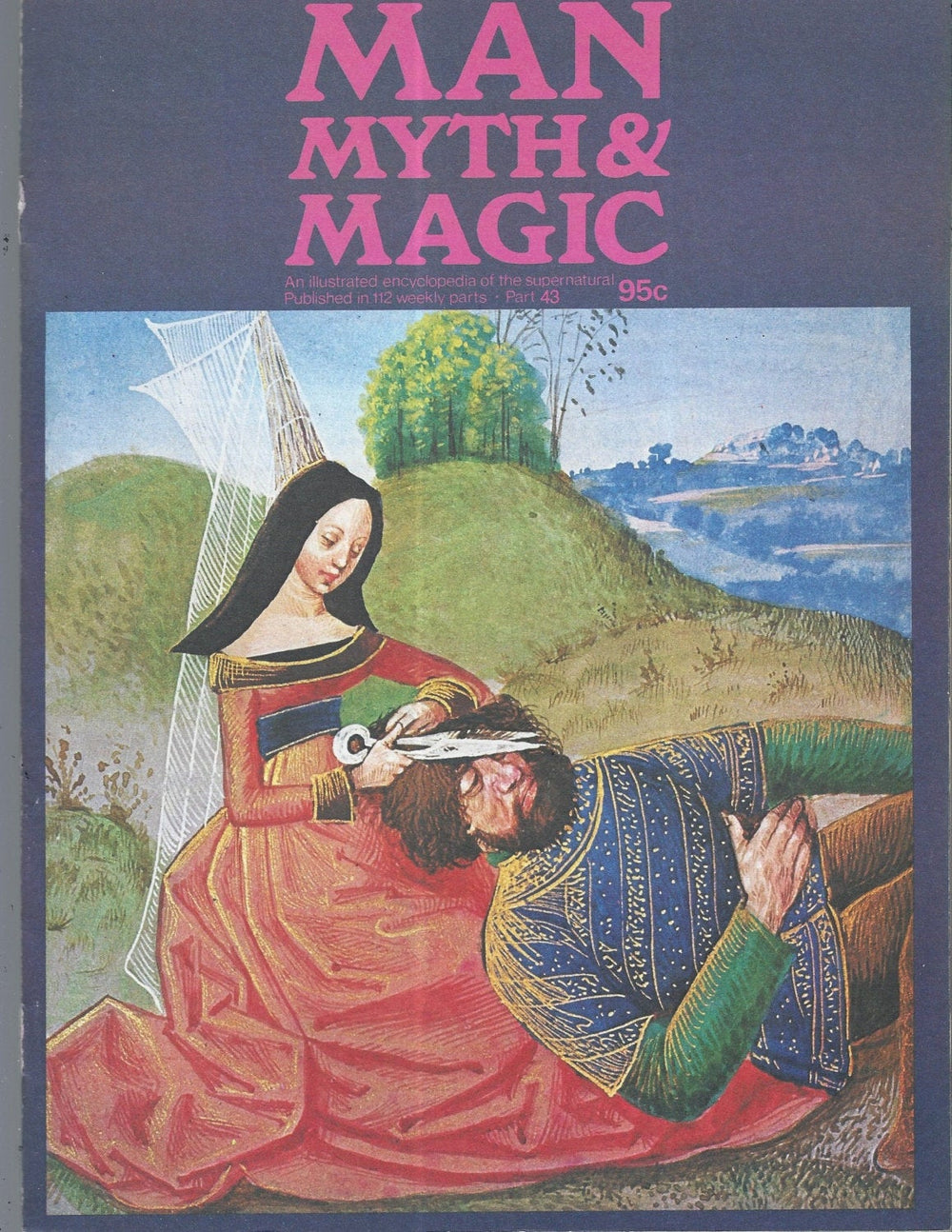 Man, Myth and Magic Part 43 Magazine by Richard Cavendish 1970