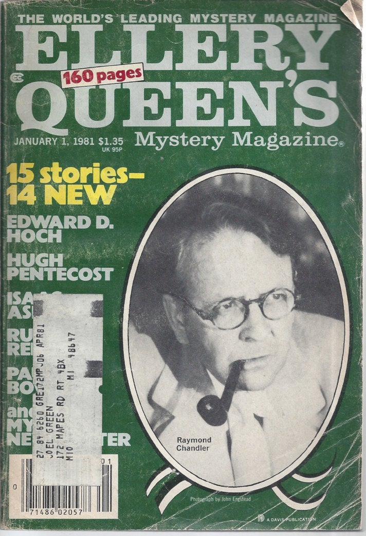 Ellery Queen January 1981 Mystery Magazine