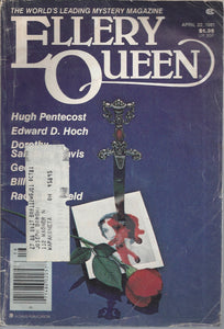Ellery Queen April 1981 Mystery Magazine