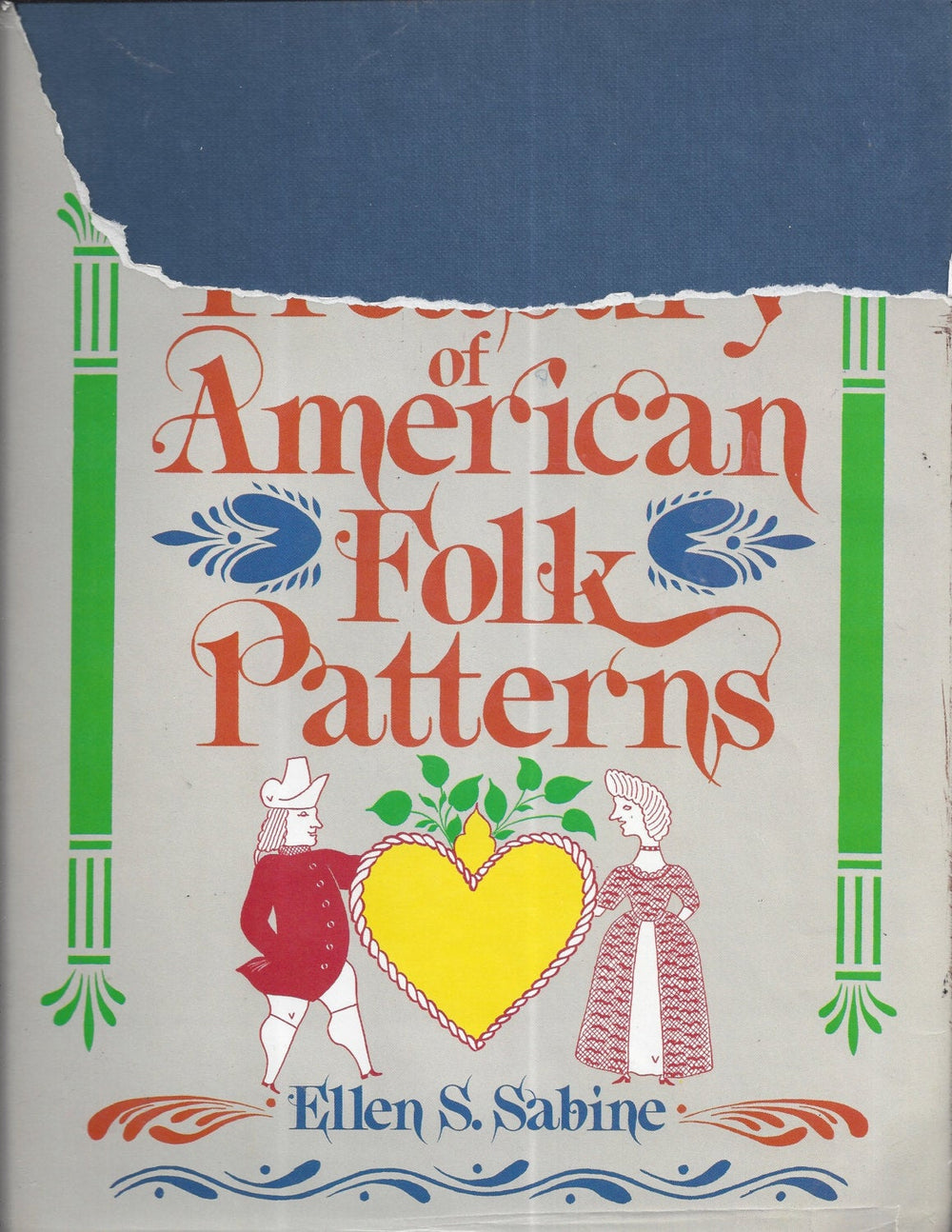 Treasury of American Folk Patterns (Hardcover) 1982