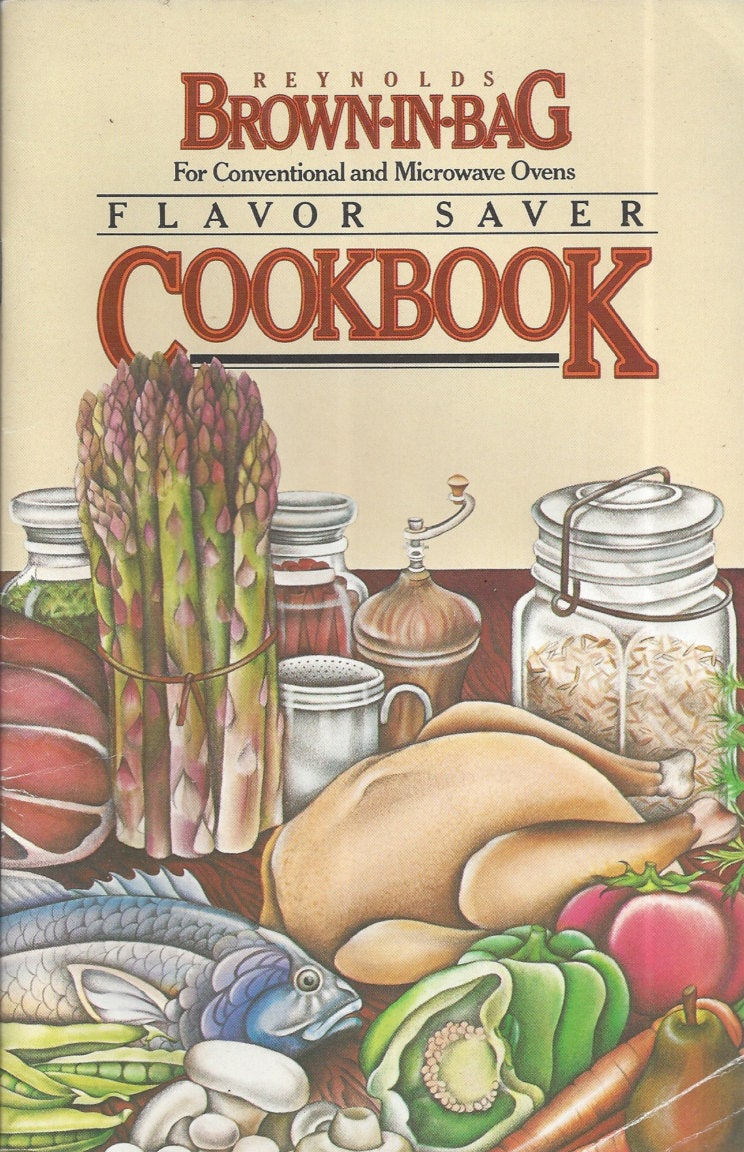 Reynolds-Brown-in-Bag Cook Book  Copyright 1979
