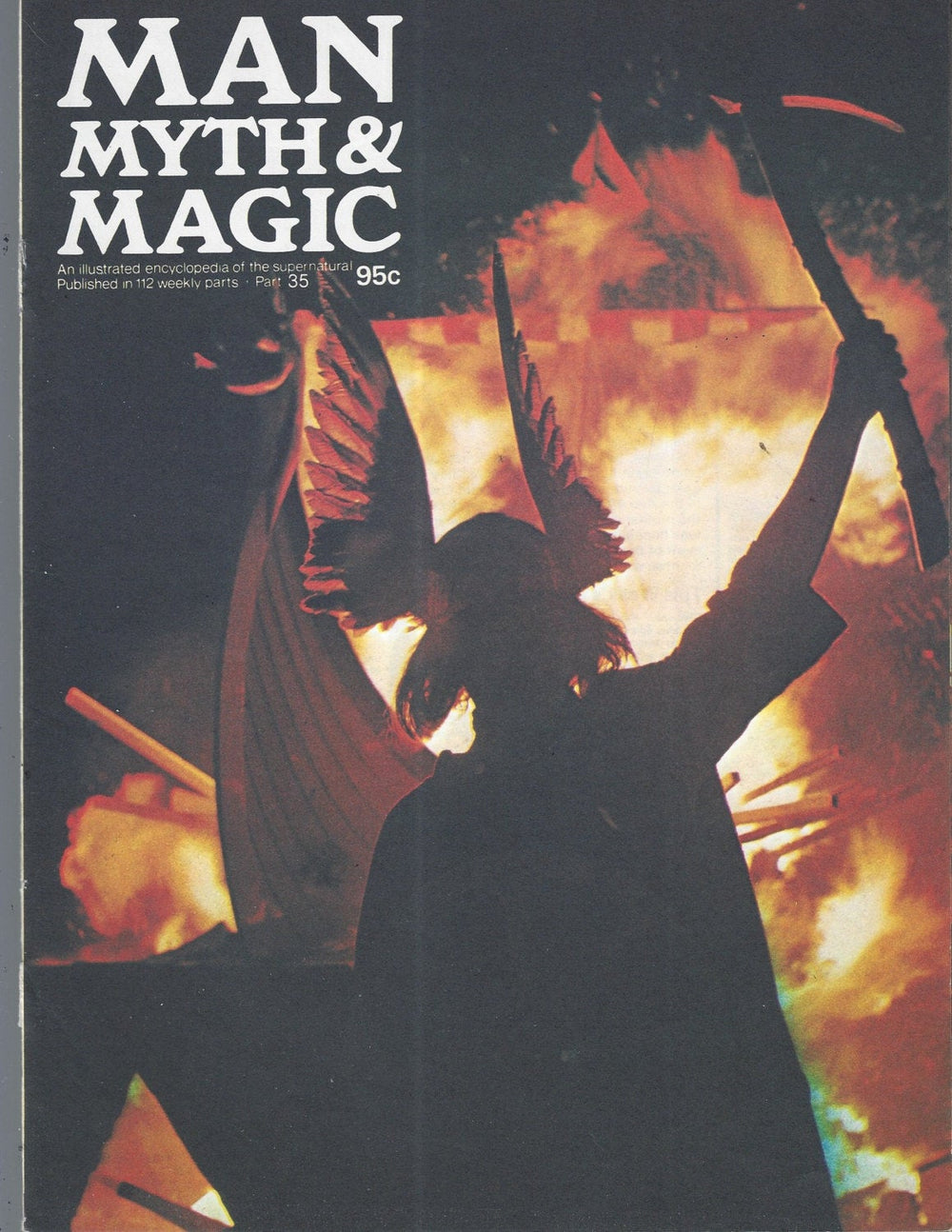 Man, Myth and Magic Part 35 Magazine by Richard Cavendish 1970