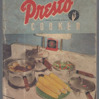 National PRESTO cooker Recipe Book