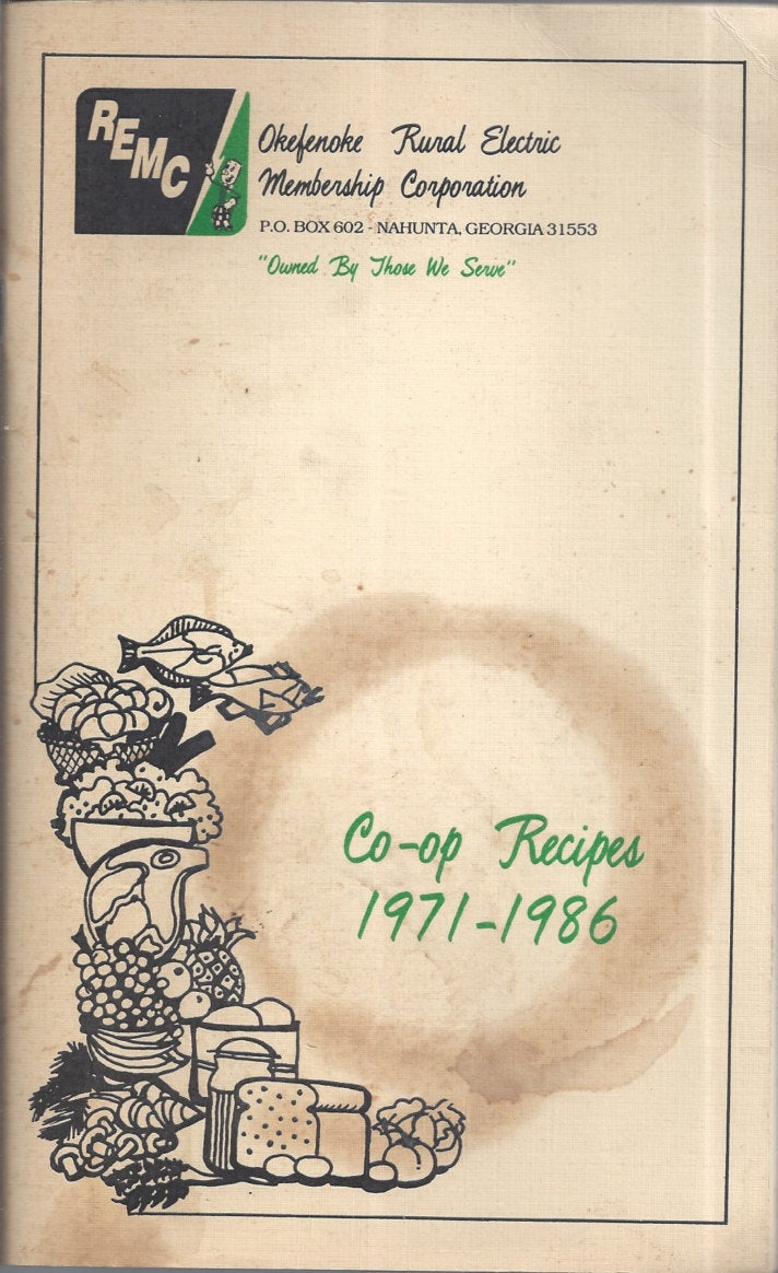 Rural Electric Membership Corporation Co-Op RECIPES 1971-1986 (RARE)