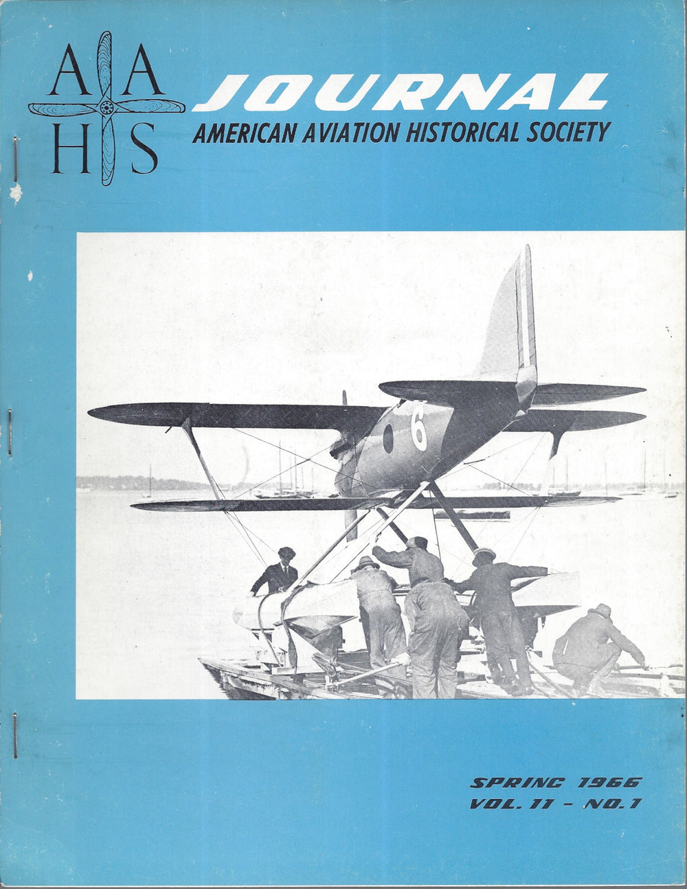 AAHS Journal Spring 1966 Volume 11-No. 1 Curtiss R2C