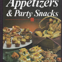Publications International Appetizers & Party Snacks Cookbook 1989