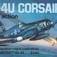 F4U CORSAIR IN ACTION 1977 (Paperback)