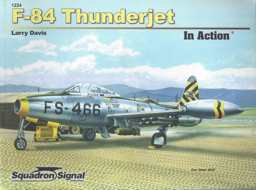 F-84 Thunderjet-In Action  (Paperback)