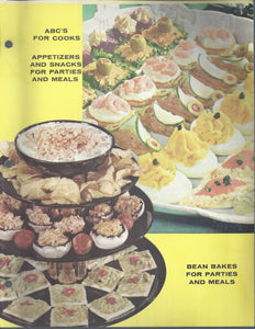 Mary Margaret McBride Encyclopedia of Cooking Cook Book Deluxe Edition 1960 (2ND EDITION) (Cover Page-Appetizers -Beans)