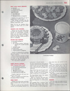 Mary Margaret McBride Encyclopedia of Cooking Cook Book Deluxe Edition 1960 (2ND EDITION) (PAGES 705-736)