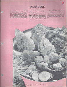 Mary Margaret McBride Encyclopedia of Cooking Cook Book Deluxe Edition 1960 (2ND EDITION) (PAGES 1153-1184)
