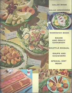 Mary Margaret McBride Encyclopedia of Cooking Cook Book Deluxe Edition 1960 (2ND EDITION) (Cover Page-Salad Book-Soups and Chowders)
