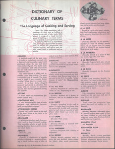 Mary Margaret McBride Encyclopedia of Cooking Cook Book Deluxe Edition 1960 (2ND EDITION) (PAGES 1409-1440)