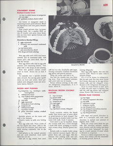 Mary Margaret McBride Encyclopedia of Cooking Cook Book Deluxe Edition 1960 (2ND EDITION) (PAGES 609-640)