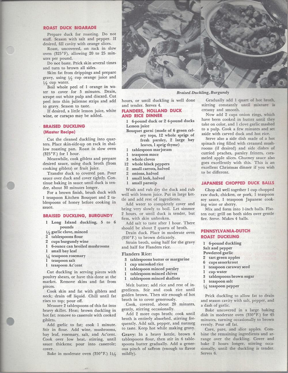 Mary Margaret McBride Encyclopedia of Cooking Cook Book Deluxe Edition 1960 (2ND EDITION) (PAGES 1057-1088)