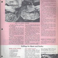 Mary Margaret McBride Encyclopedia of Cooking Cook Book Deluxe Edition 1960 (2ND EDITION) (PAGES 1281-1312)